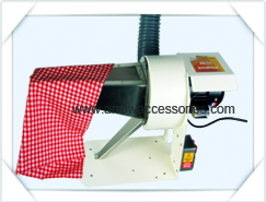 clean garments faster with use of super exhaust and spray guns
